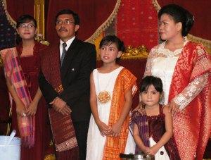 Astrid Giovani Sitohang, Dirjon Sitohang, Alda Arthauli Sitohang, Amanda Viona Sitohang dan Abilgael Lurekke br Sagala.
