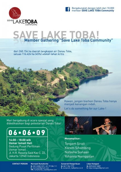save lake toba gathering