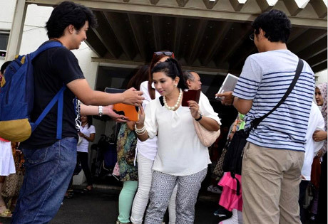 exit poll pilpres di tokyo