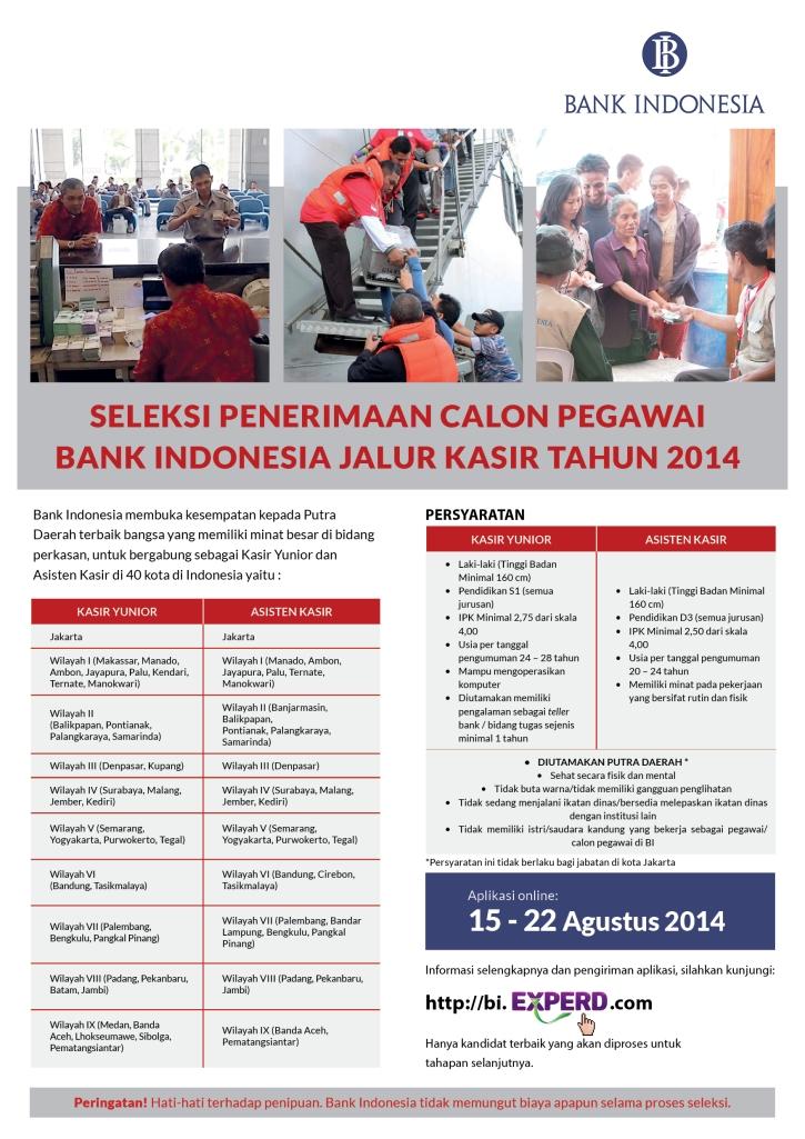Poster Iklan Lowongan Kasir_BI